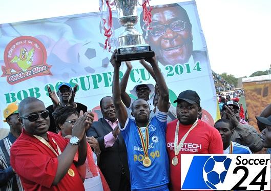 Dynamos captain Murape Murape lifts Bob @90 Cup