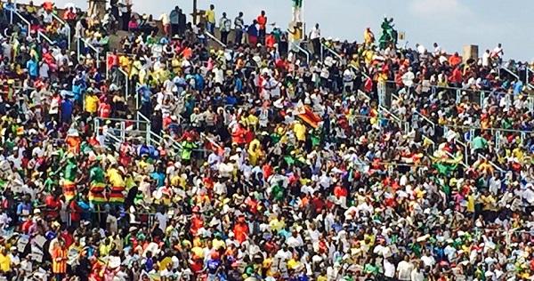 Rufaro Stadium packed durinG Warriors v Guinea match