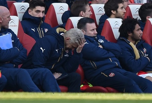 Arsenal are held to a 1-1 draw at Emirates Stadium