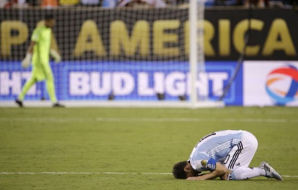Chile beat Argentina in a penalty shootout to win Copa America