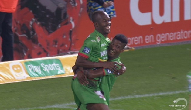 Musona with a goal and an assist in Belgium