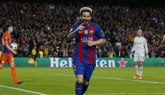 Champions League: Barca, Arsenal and Man City secure Knockout stage