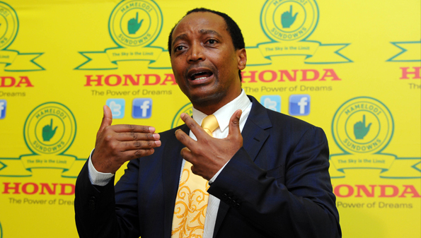Motsepe advises Sundowns players after Champions League windfall