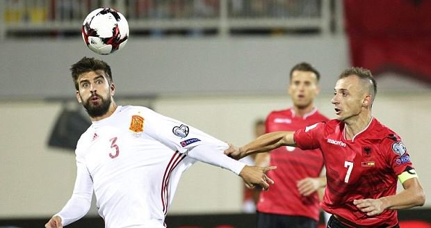 Gerard Pique announces retirement from Spain duty after 2018 World Cup