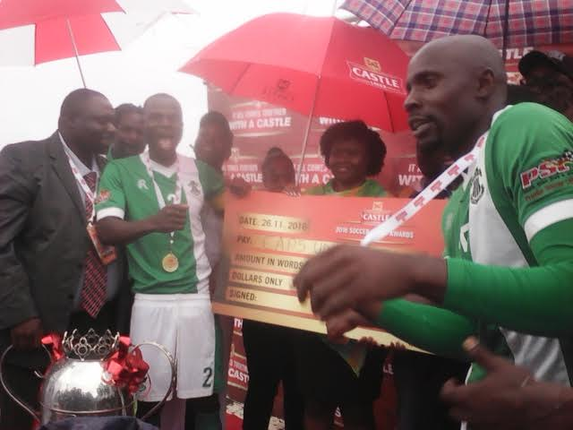 Chitembwe pays tribute to CAPS United players after clinching title