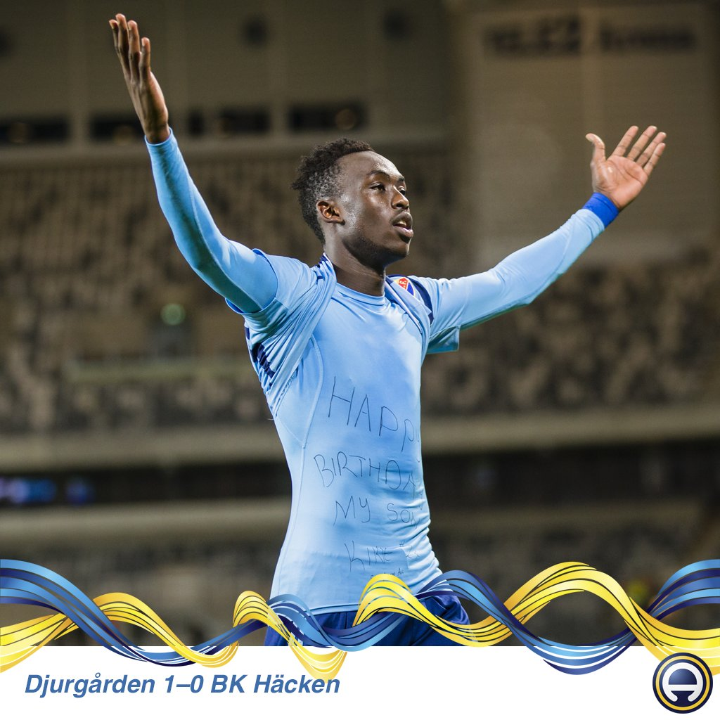 Kadewere solitary strike secures three points for Djurgården in Sweden