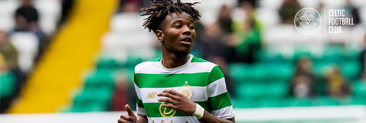 Benyu makes his first competitive Celtic start