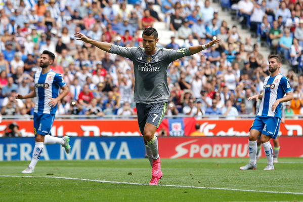Cristiano Ronaldo nets 5 as Madrid thump Espanyol