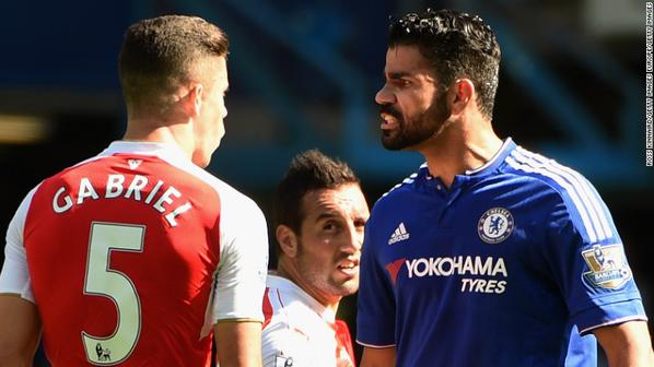 Diego Costa branded a cheat