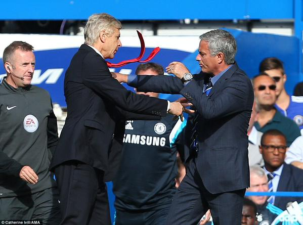 Can Wenger merk Mourinho this weekend?
