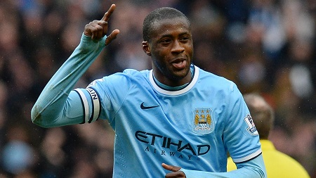 Yaya Toure returns to Manchester City Champions League squad