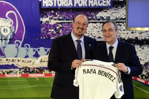 UPDATE: Real Madrid president gives under fire Benitez full backing