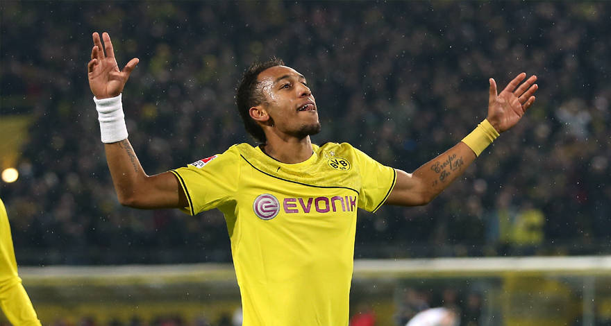 Man Utd join race for Aubameyang signature