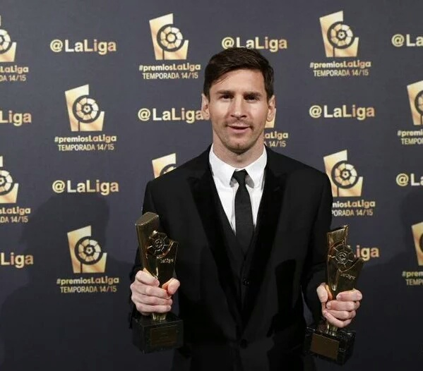 Messi named La Liga player of the year