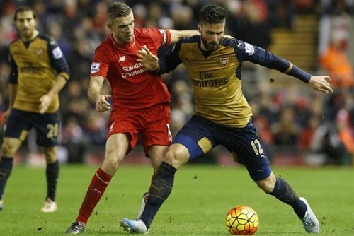 EPL: Liverpool beat Arsenal to go third