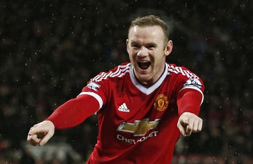 EPL: Rooney record goal saves Man United, Swansea stun Liverpool