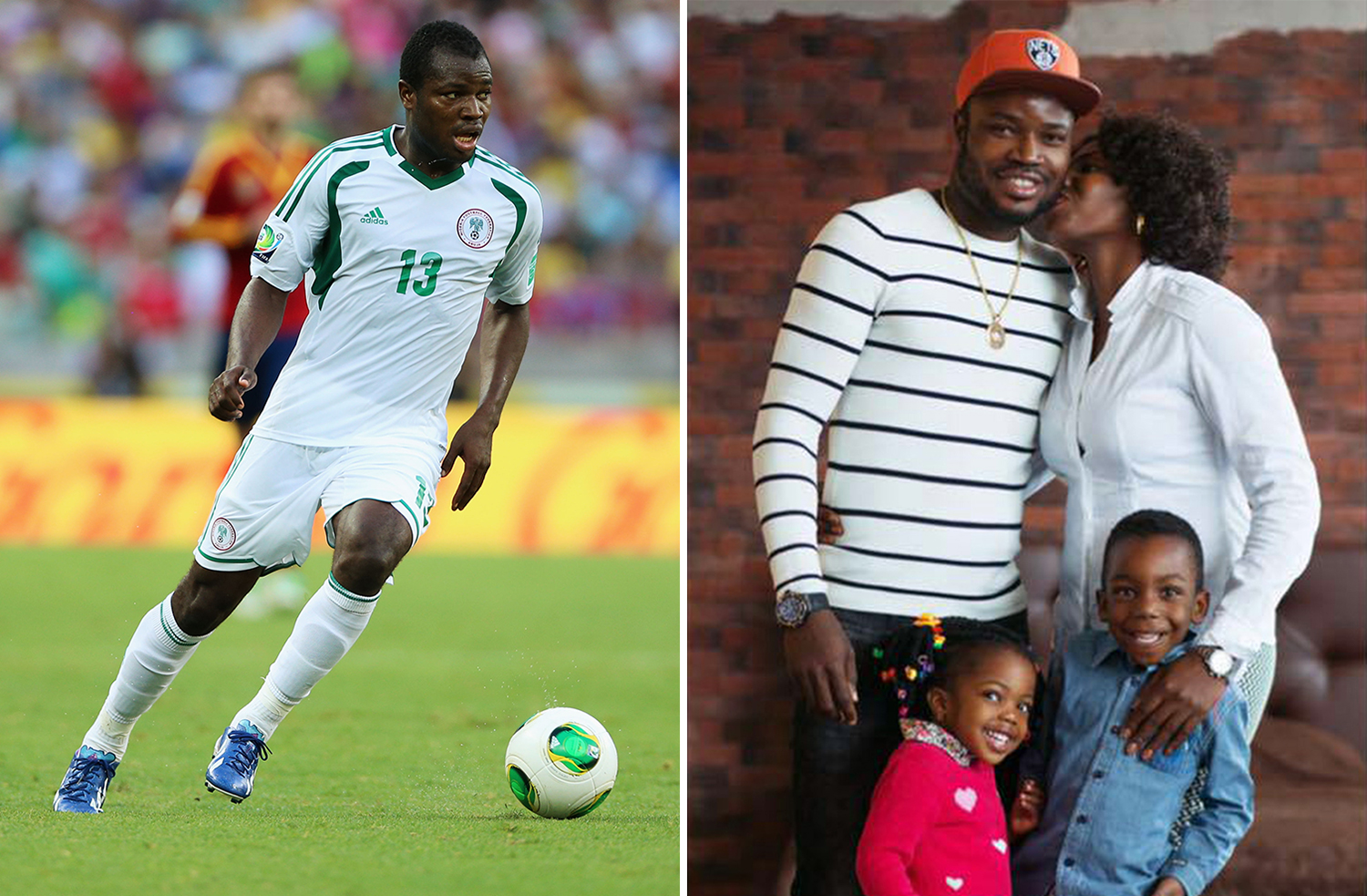 Nigeria's player Fegor Ogude's wife kidnapped by gunmen