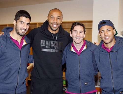 Henry reveals how Arsenal can beat Barcelona