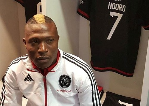 Pressure at Orlando Pirates too much says Tendai Ndoro