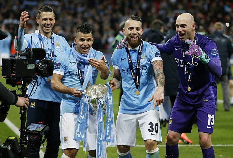 Man City lift English League Cup after beating Liverpool on penalities