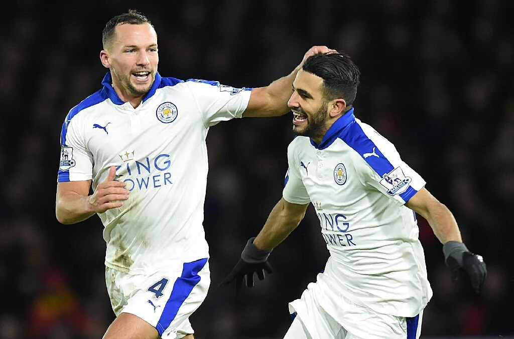 Leicester City's Riyad Mahrez sinks Watford to boost title charge