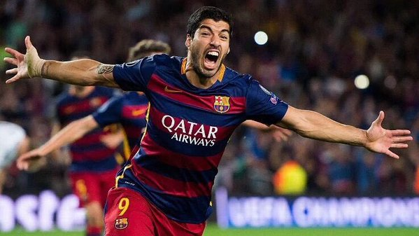 Suarez out for a month with knee injury