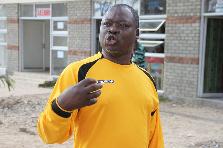 Chunga reveals reason local football is not growing