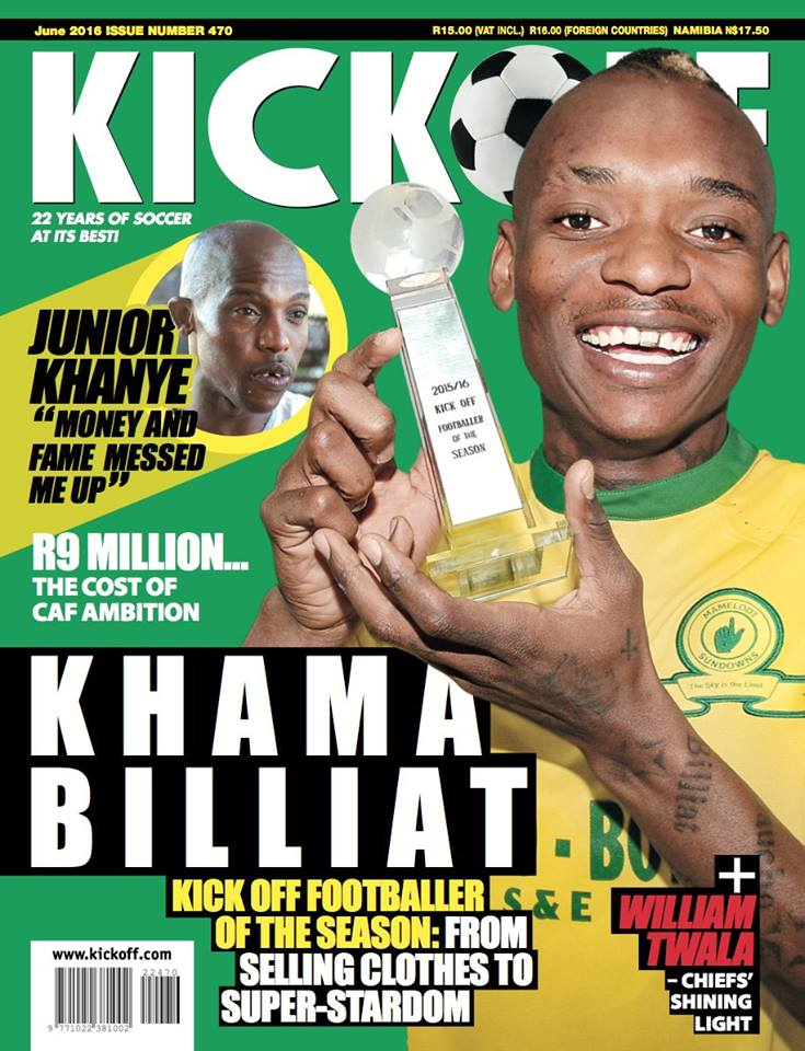 Billiat Footballer of the Year