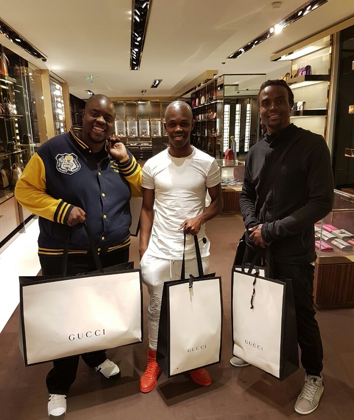 Chivayo in France with Costa and Musona2