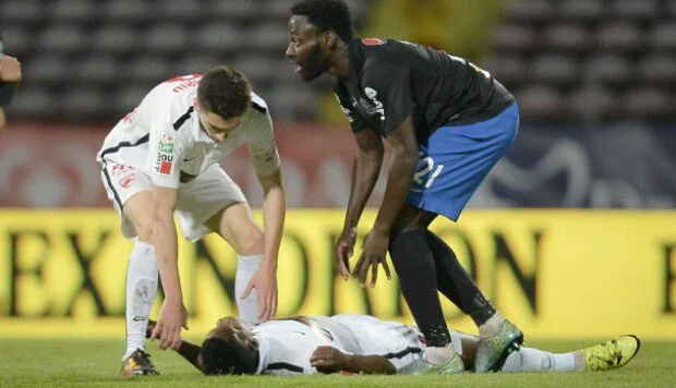 Cameroon midfielder Patrick Ekeng has died after collapsing during a game