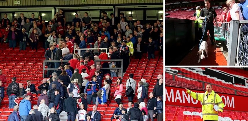 Man Utd vs. Bournemouth abandoned after suspect package found in one of the stands