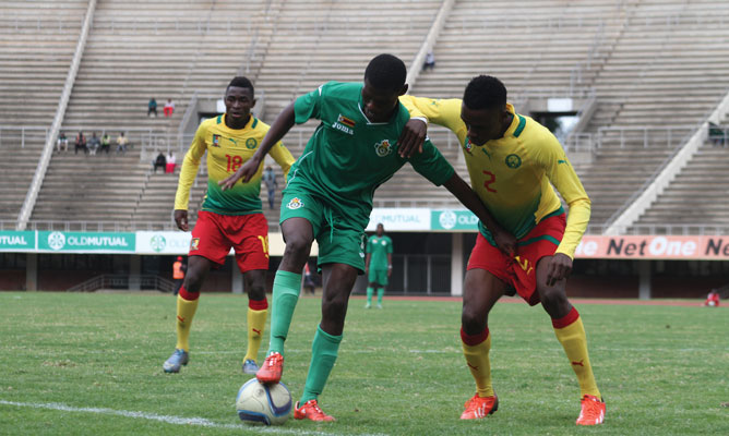 Young Warriors beaten by Cameroon in U-20 AFCON qualifier