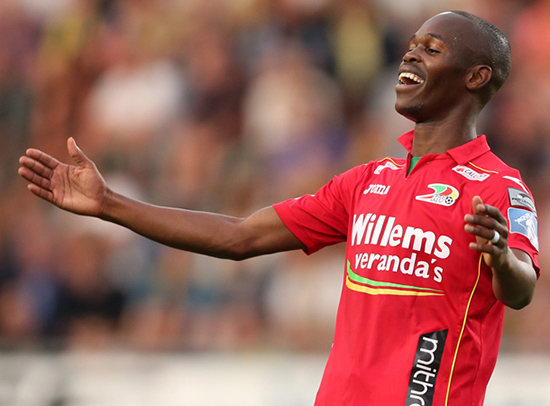 Musona ends season in Belgium with a fine goal
