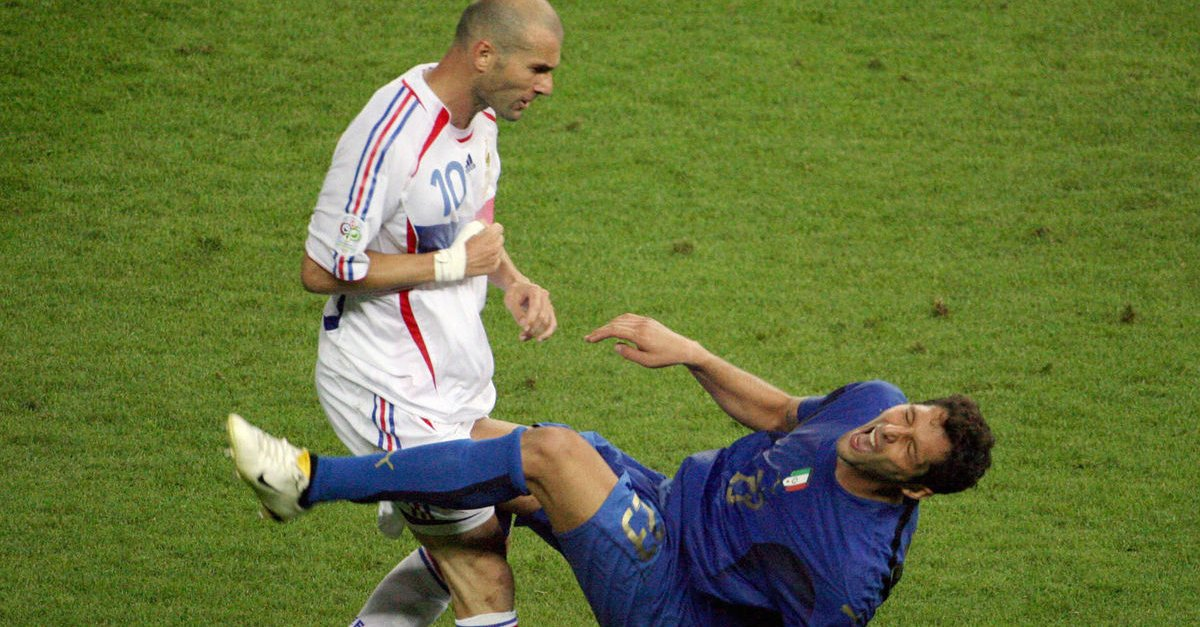 Marco Materazzi reveals what he said to Zidane before that headbutt