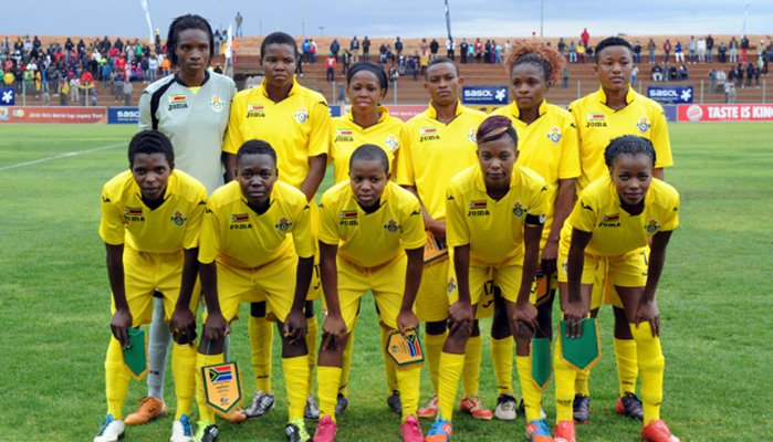 Mighty Warriors date Banyana Banyana at BF