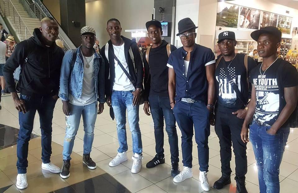 Warriors SA contigent