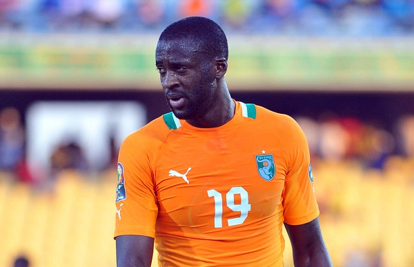 Yaya Toure in China for trials