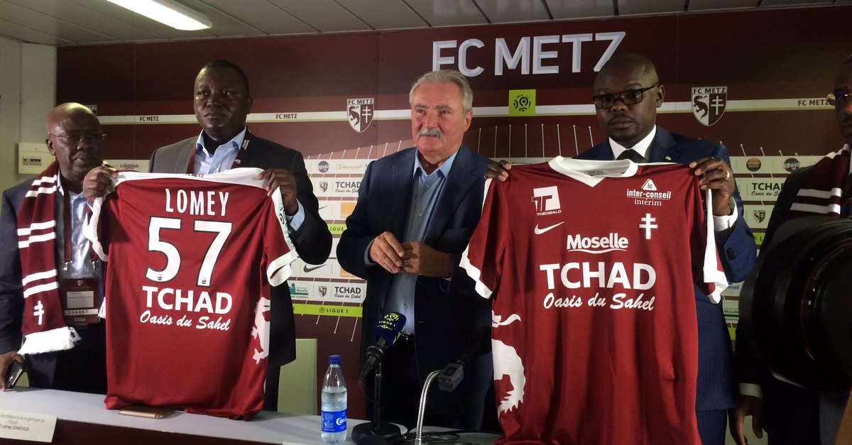 Central African Chad to sponsor top-level French football club
