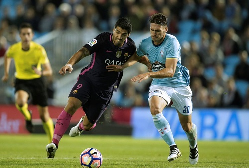 Celta Vigo put four past Barcelona