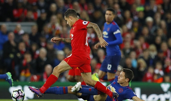 Liverpool and Manchester United in goalless draw