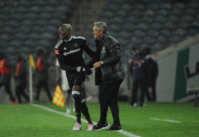 Goal-shy Ndoro 'not worried' about scoring goals for Pirates