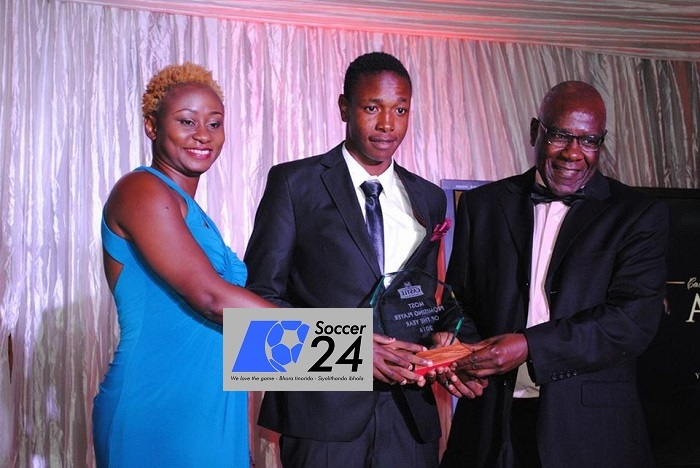 Highlanders striker Peter Dube wins promising player of theseason