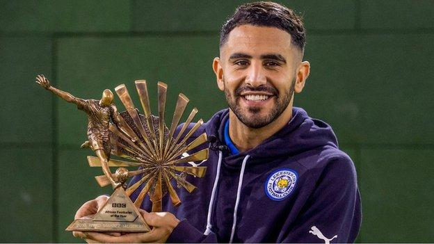 Mahrez wins BBC African Player of the Year
