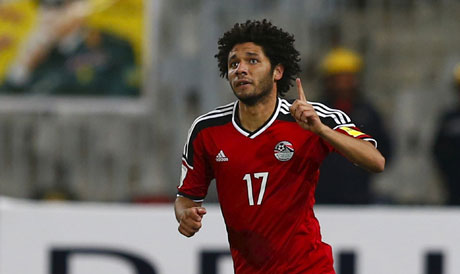 AFCON 2017: Egypt's Elneny Out Of Semi-final