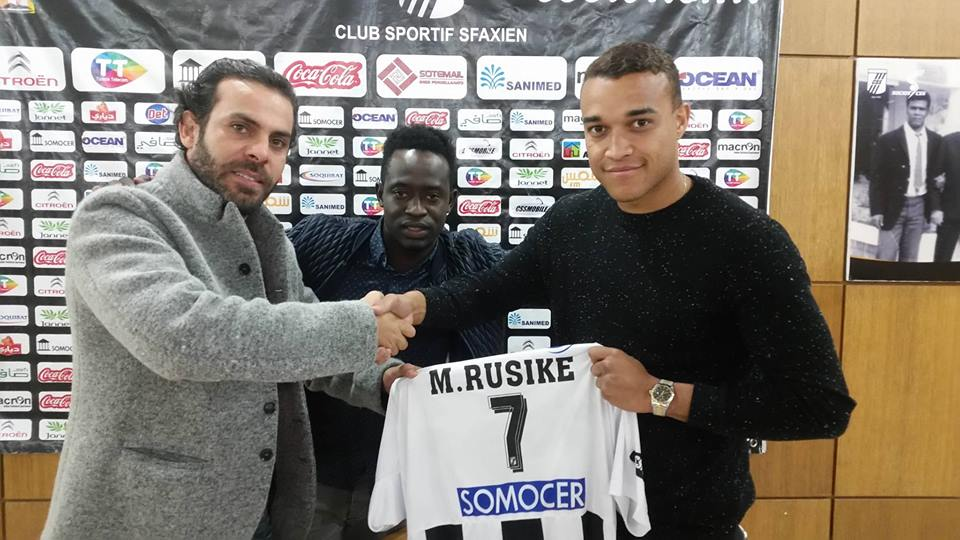 Official : Matthew Rusike joins CS Sfaxien