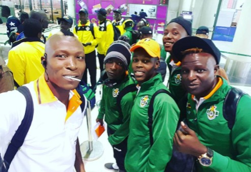 Warriors arrive in Cameroon for friendly