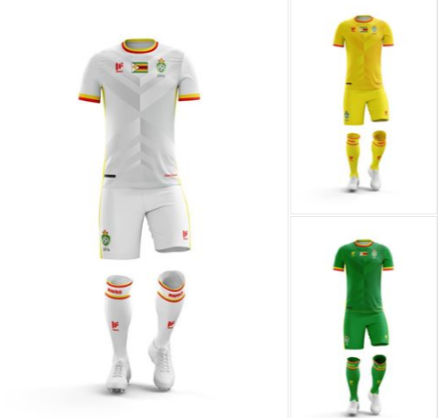 Zimbabwe national team replicas to start selling next week