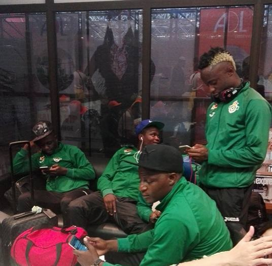 Warriors arrive in Gabon ahead of AFCON start