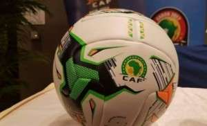 CAF unveils official match ball for AFCON 2017