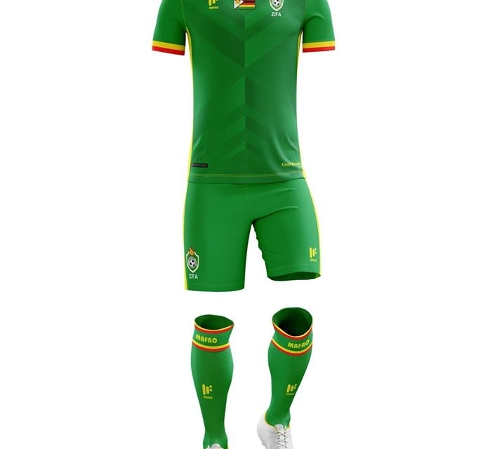 PICTURES: Warriors official AFCON 2017 kit